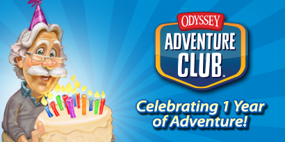 The Odyssey Adventure Club First Birthday