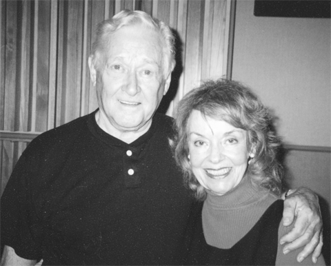 Alan Young and Janet Waldo